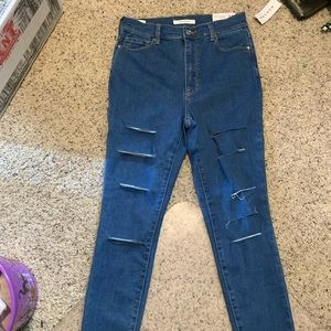 NWT super high rise pacsun skinny jeans